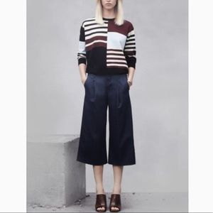 ANTHRO J BRAND Eunice Culottes Wide Leg Dark Jeans